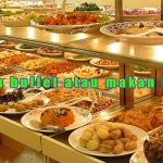 Makan buffet atau makan free?